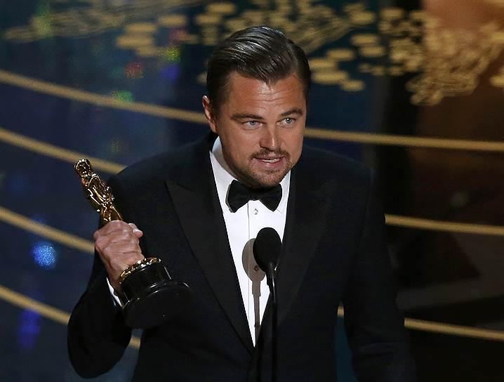 Леонардо Ди Каприо получил «Оскар» в номинации «лучший актер»