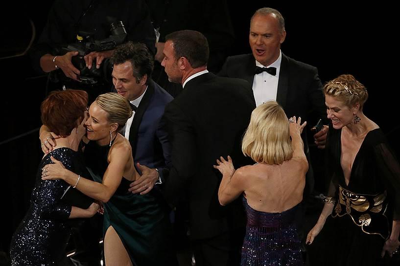 Кинокартина «В центре внимания» завоевала «Оскар» в номинации «лучший фильм»