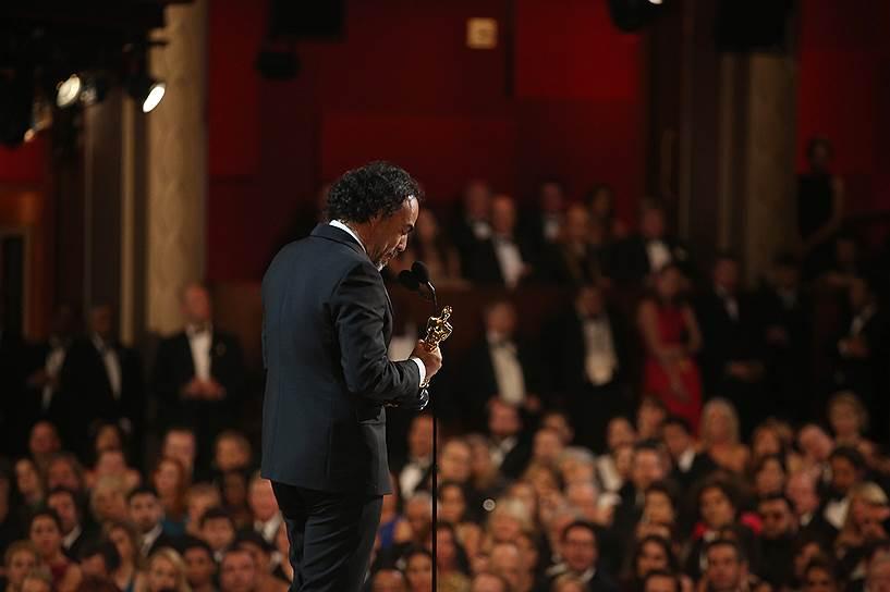 Алехандро Гонсалес Иньярриту получил «Оскар» за лучшую режиссуру