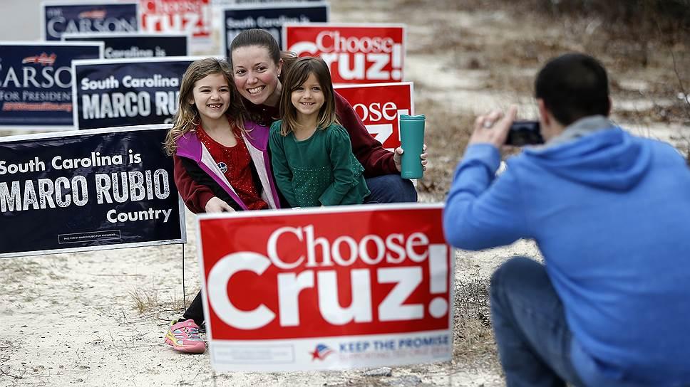Предвыборная гонка в США. Фотогалерея