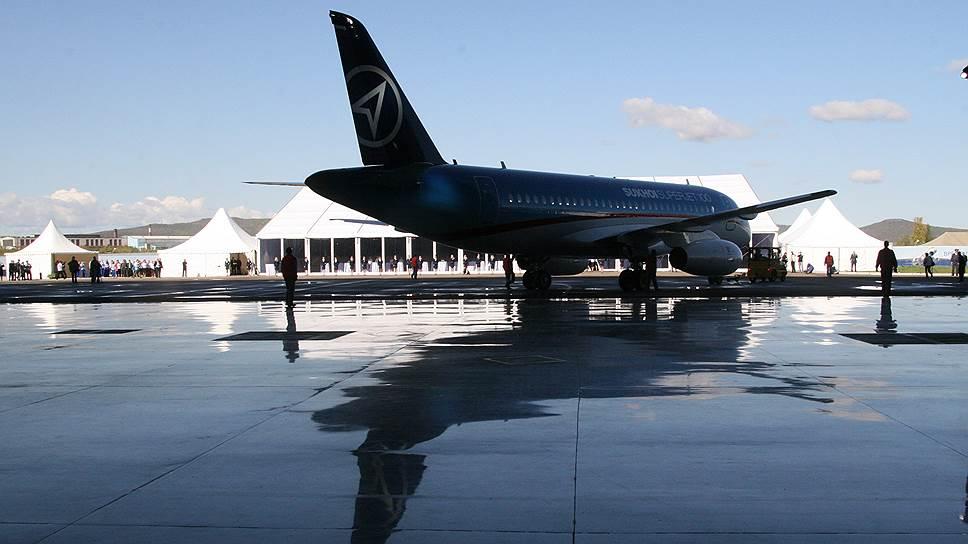 SSJ-100 не полетит в Бельгию