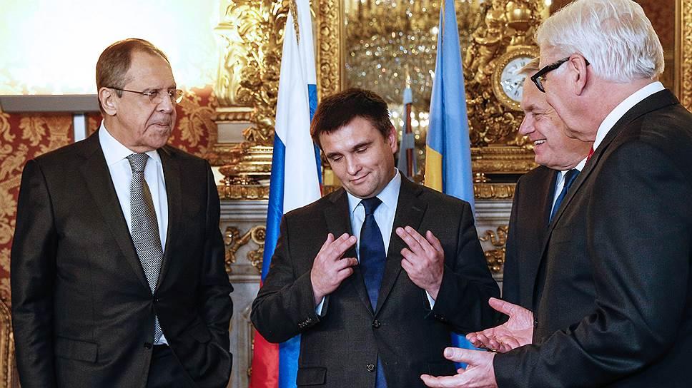 Сергею Лаврову и Павлу Климкину пришлось постоять за Минск вместе