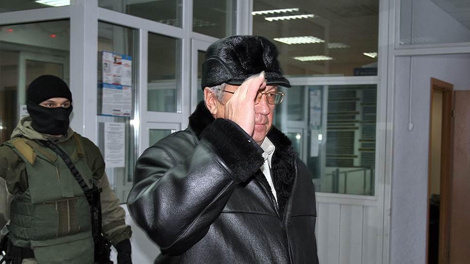 Бывший руководитель вологодского филиала Банка Москвы Николай Голубин