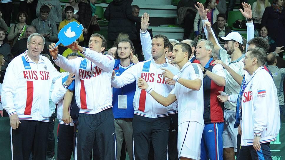 Шамиль Тарпищев установил рекорд Кубка Дэвиса, одержав 55 побед в качестве капитана