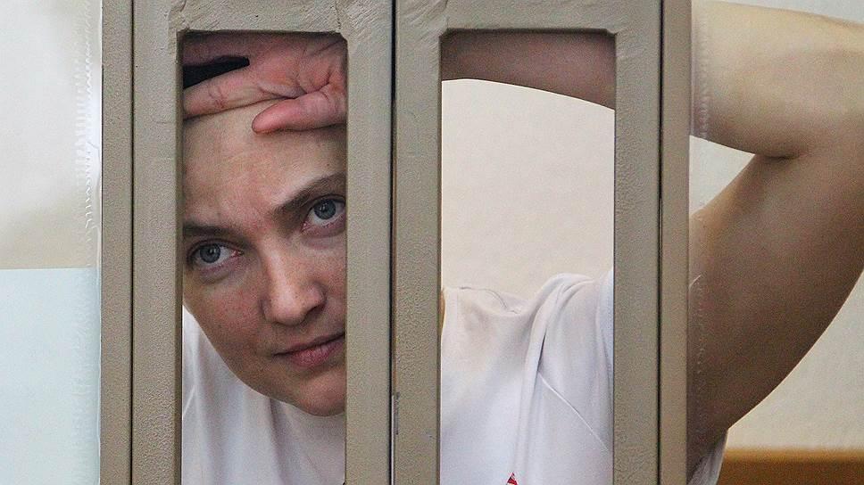 США призывают Россию «немедленно отпустить» Надежду Савченко