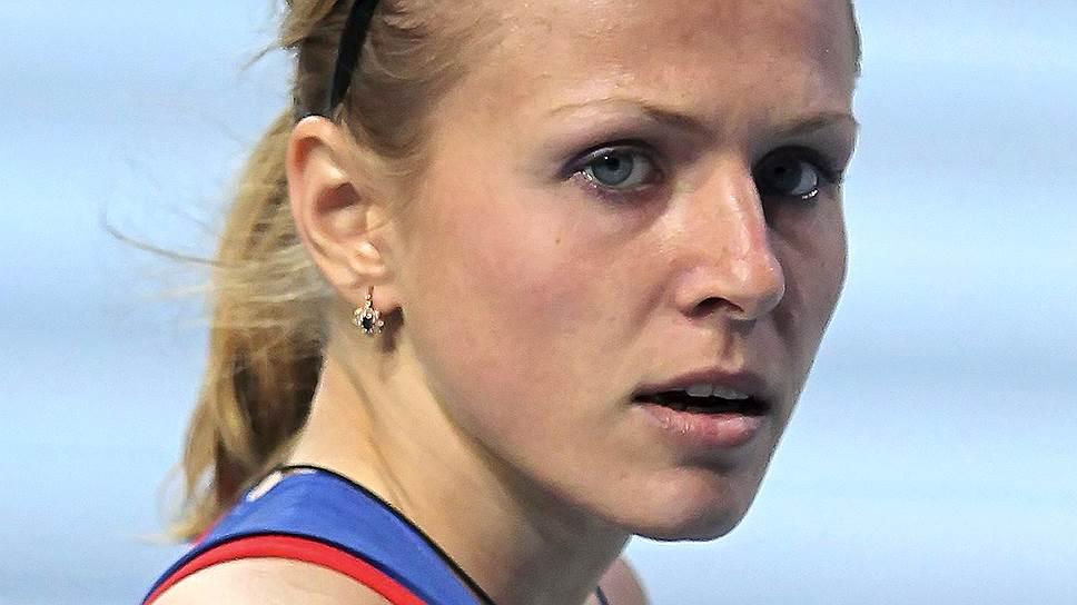 Российская бегунья Юлия Степанова