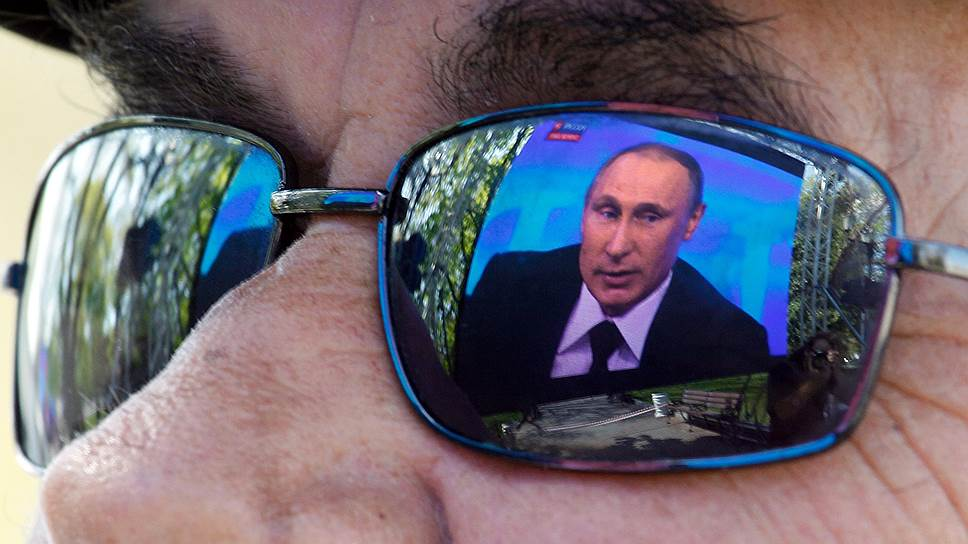 Против Владимира Путина предложили ввести санкции
