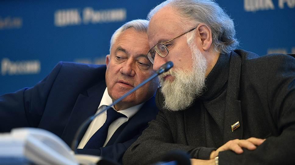 Владимир Чуров считает всех своих заместителей законными