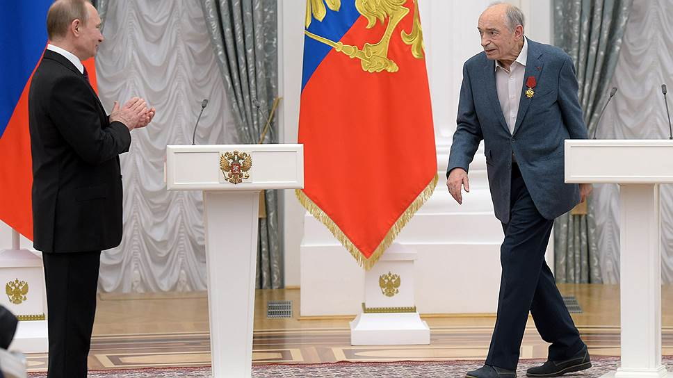 Валентин Гафт сказал Владимиру Путину все, что был должен