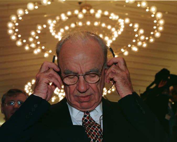 В 2007 году медиамагнат приобрел компанию Dow Jones, которой среди прочего принадлежит издание The Wall Street Journal. Сумма сделки составила $5,7 млрд. Опасаясь возможного вмешательства в редакционную политику газеты, сотрудники WSJ сумели добиться внесения в сделку пункта о независимости издания