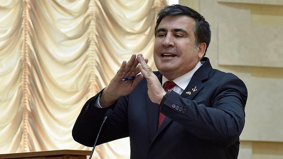 Председатель Одесской областной государственной администрации Михаил Саакашвили