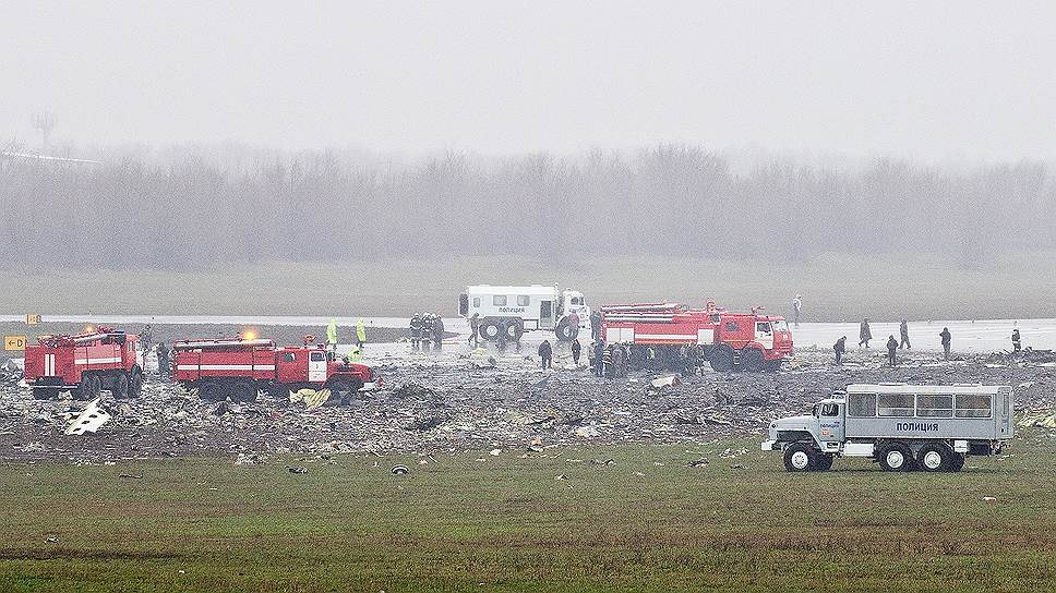 В Ростове-на-Дону разбился Boeing
