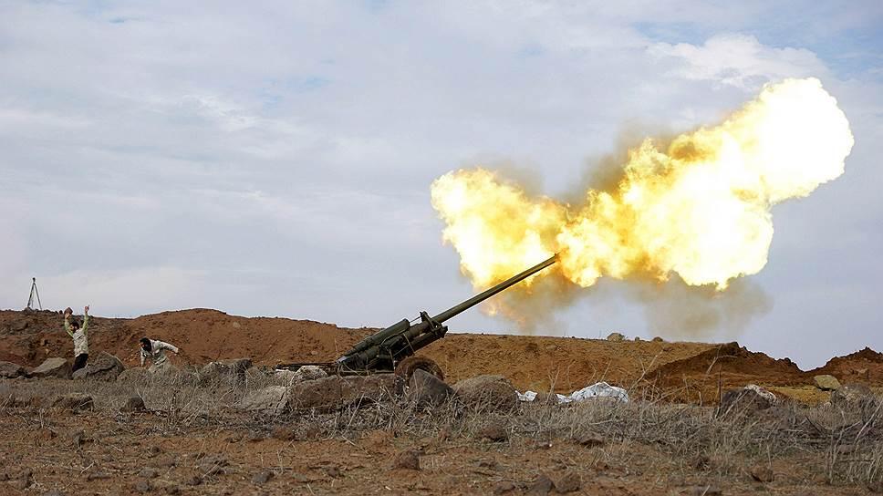 Как сирийская армия с боем вошла в Пальмиру