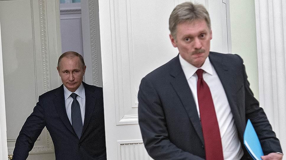 Дмитрий Песков заявил, что Россия ведет информационную войну «с англосаксами, их СМИ»