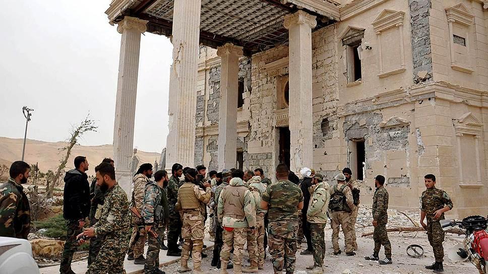 Как сирийская армия освободила Пальмиру от боевиков ИГ