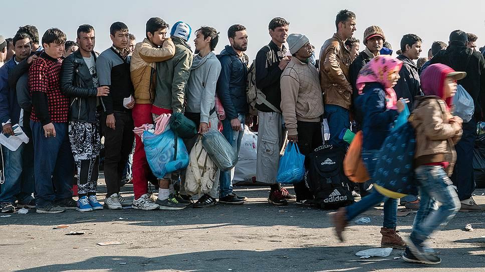 Как Греция переживает кризис мигрантов