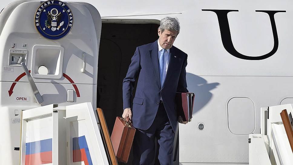 Джон Керри подвел итоги визита в Москву
