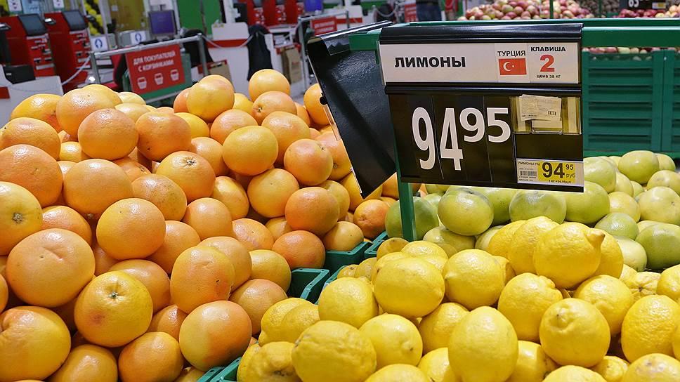 Как турецким продуктам расширили эмбарго