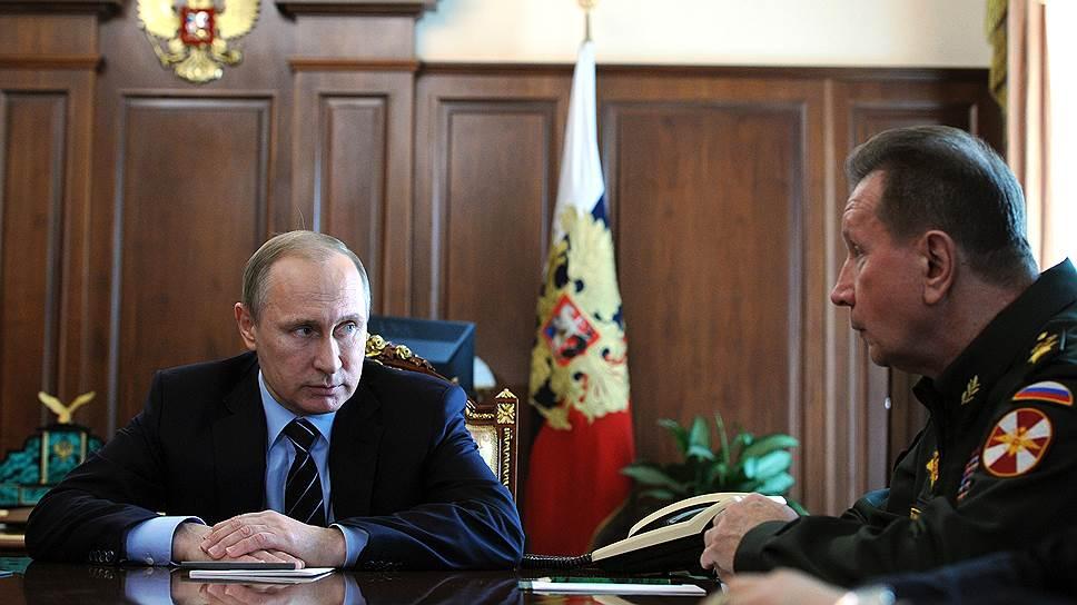 Владимир Путин передал ФМС и ФСКН в подчинение МВД