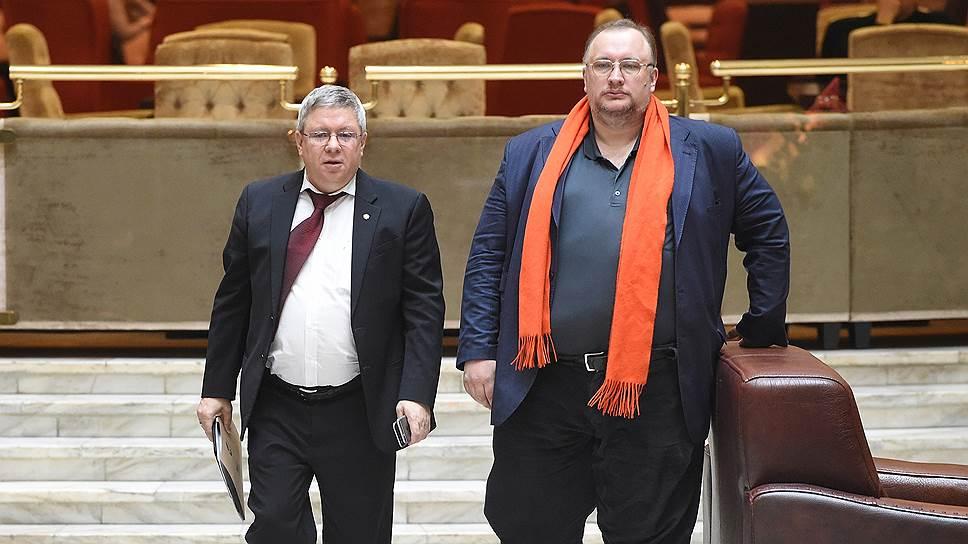 Зампред ЦБ Александр Торшин (слева) и бывший депутат Госдумы Владимир Коптев-Дворников