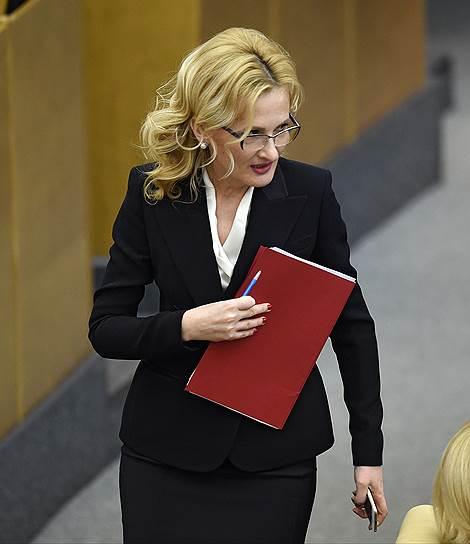 Председатель комитета Госдумы России по безопасности и противодействию коррупции Ирина Яровая