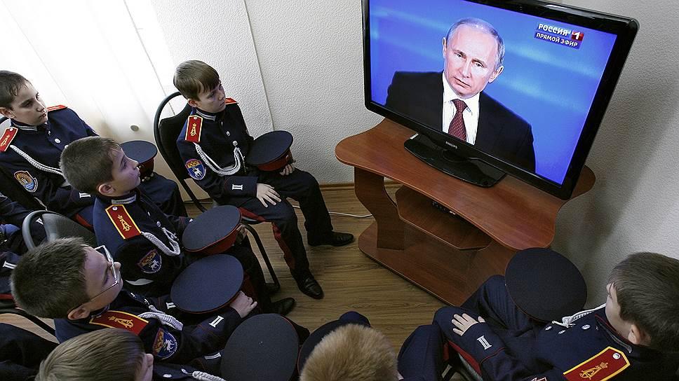 Ведущие прямой линии с Владимиром Путиным обновились