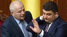 Украина не может собрать портфели