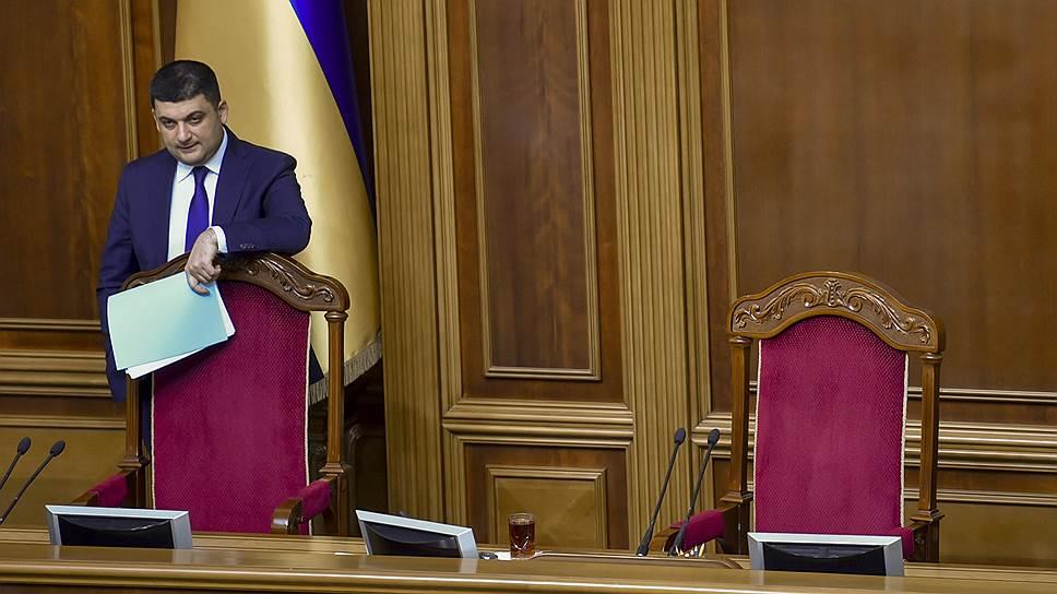 От Владимира Гройсмана в России ждут всякого