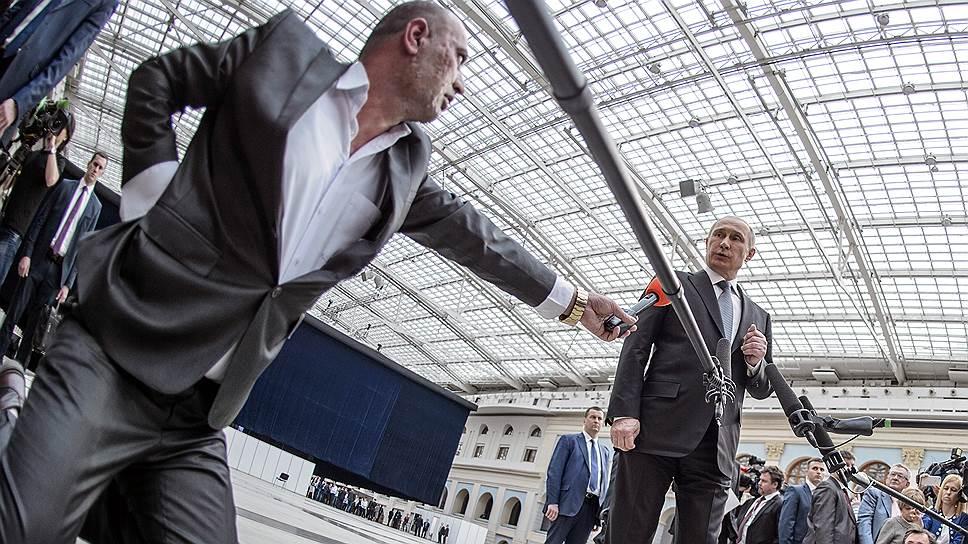 Как Владимир Путин закруглил «прямую линию»