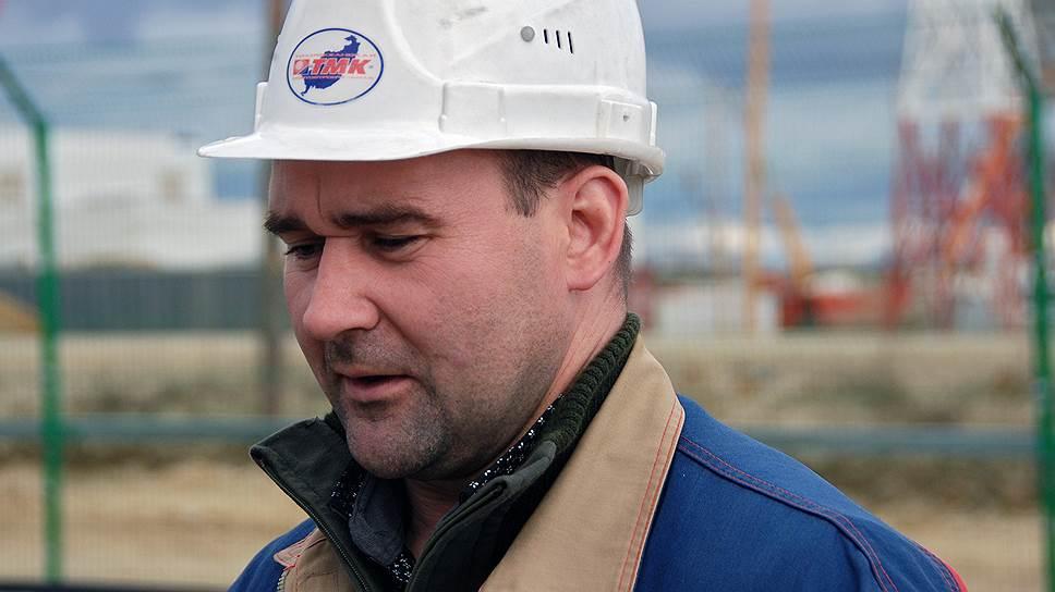 Сотрудник ЗАО «Тихоокеанская мостостроительная компания» (ТМК) Антон Тюришев