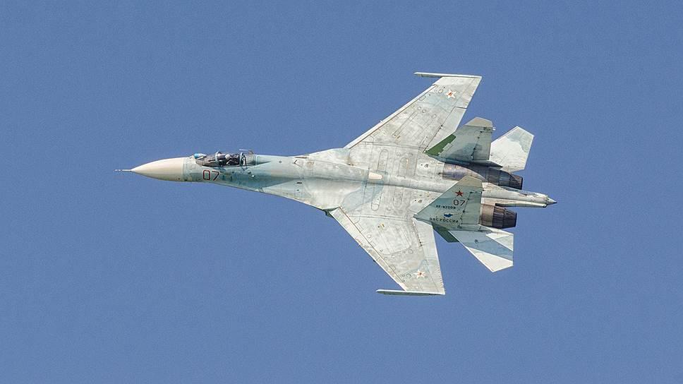 США сообщили о перехвате своего самолета российским Су-27