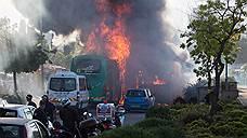 В Иерусалиме при взрыве в автобусе пострадал 21 человек