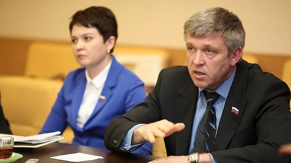 Депутат законодательного собрания Иркутской области Алексей Красноштанов