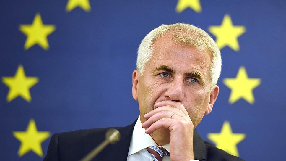 Посол ЕС в России Вигаудас Ушацкас