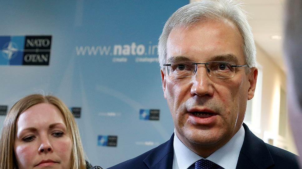«Позитивной повестки дня у России и альянса пока нет»