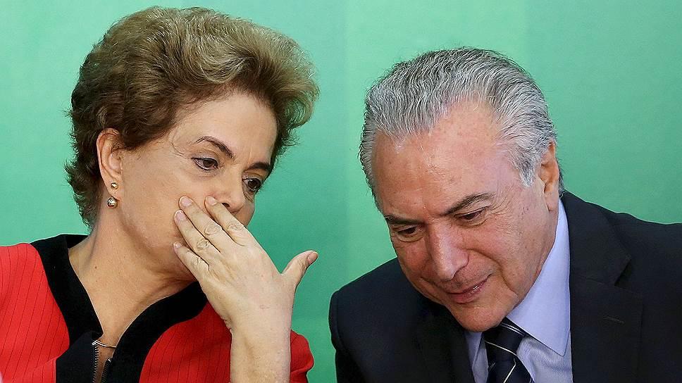 Вице-президент Бразилии предложил себя в президенты
