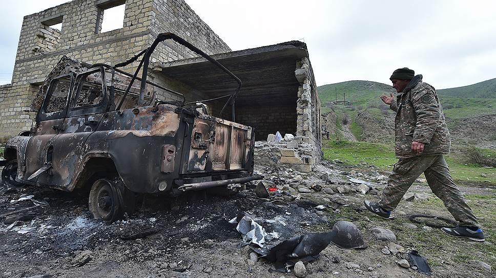 Стороны конфликта в НКР обвинили друг друга в обстрелах