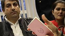 Сирийская семья получила убежище транзитом