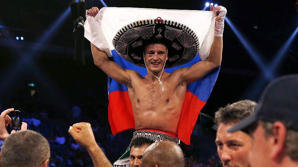 Российский боксер Евгений Градович