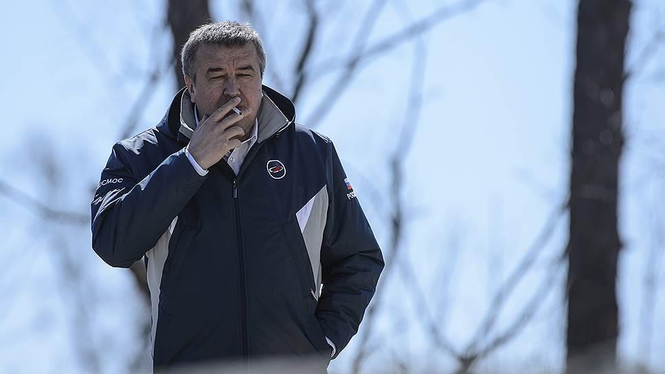 Первый заместитель главы «Роскосмоса» Александр Иванов