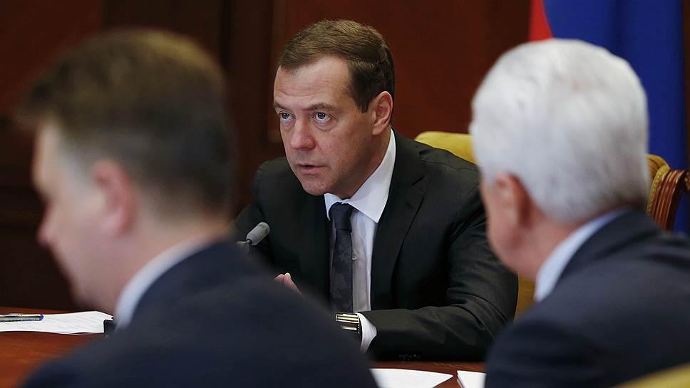 Что Дмитрий Медведев сказал о системе «Платон» на совещании