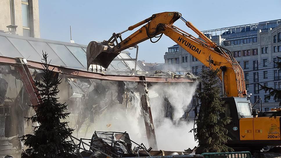 Что нужно знать о демонтаже торговых объектов в Москве