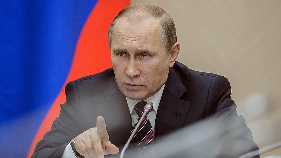 Владимир Путин подписал двадцать один закон