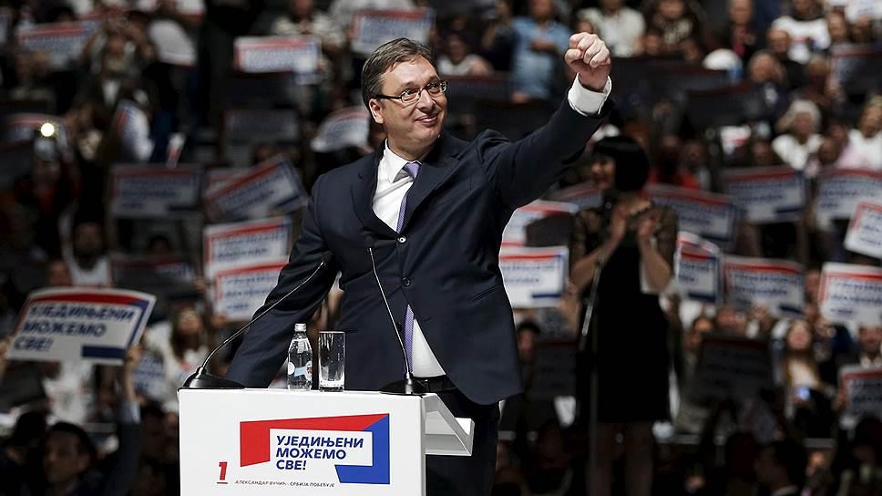 Пророссийская коалиция в Сербии недосчиталась голоса