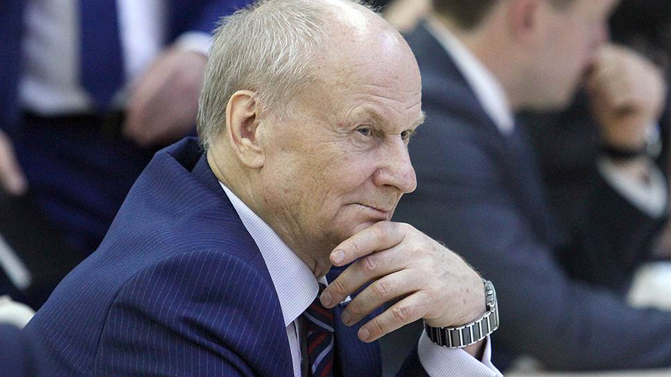 Бывший глава НПО автоматики Леонид Шалимов