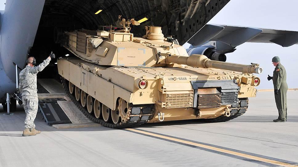 Как в Грузию для учений прибыли американские танки