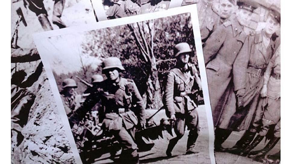 Плакат с немецкими солдатами