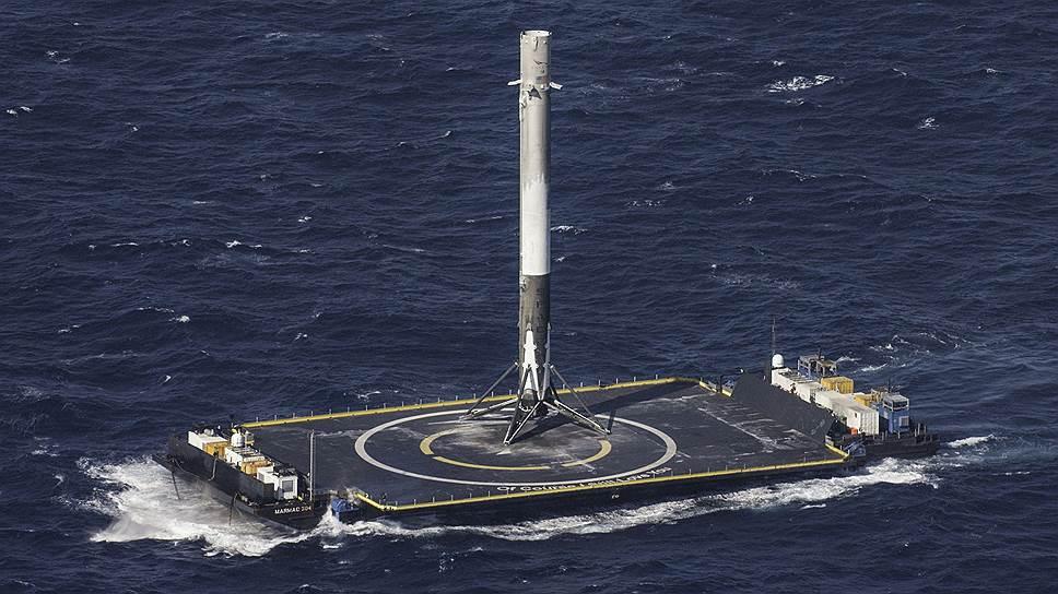 У SpaceX получается сажать все лучше и лучше