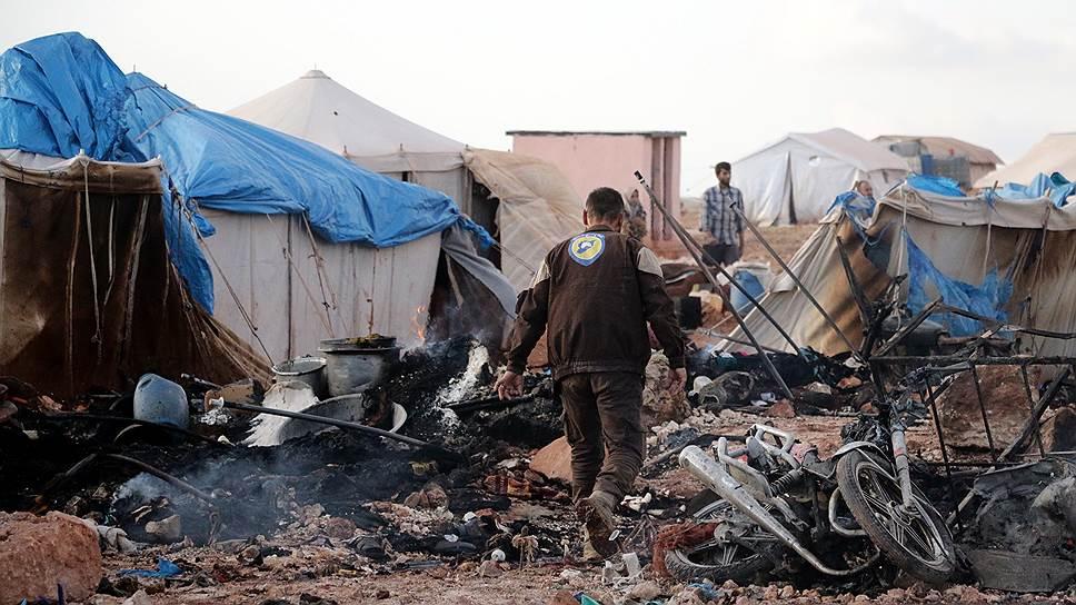 ООН подтвердила сообщения об атаке на лагерь беженцев в Сирии