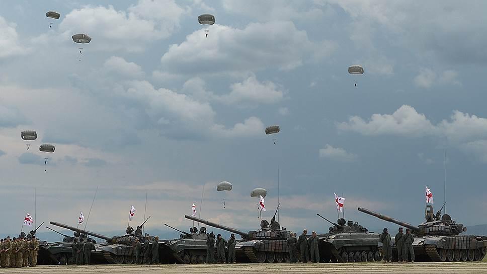 Как в Грузии прошли военные учения НАТО